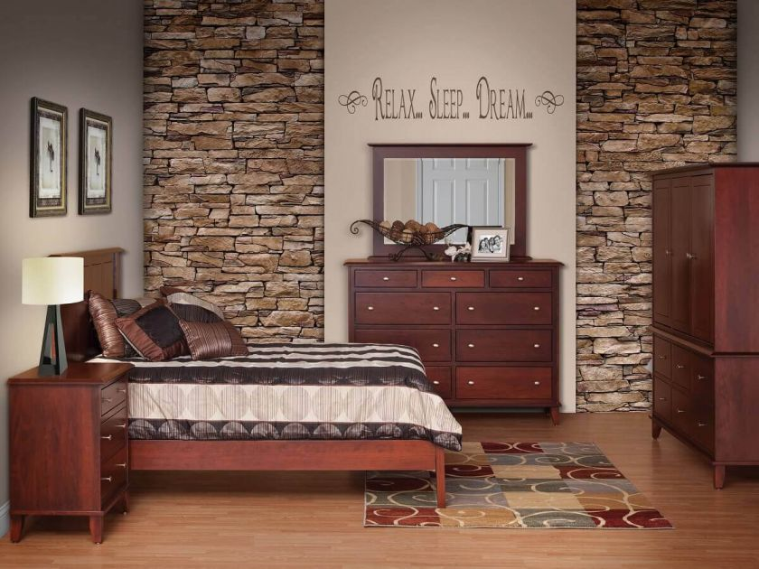 Fifth Avenue Bedroom Set Countryside Amish Furniture