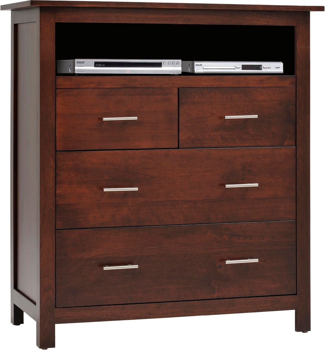 Austin Solid Wood Media Chest  Countryside Amish Furniture