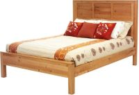 New Lebanon Cherry Panel Bed - Countryside Amish Furniture