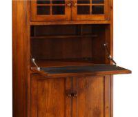 Mercer Secretary Computer Desk - Countryside Amish Furniture