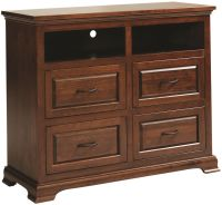 Oxford Bedroom Media Chest - Countryside Amish Furniture