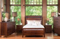 Wesley Barn Door Bedroom Set - Countryside Amish Furniture