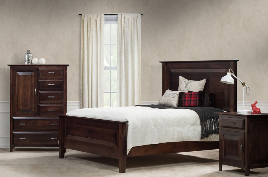 Harpswell Maple Bedroom Set Countryside Amish Furniture