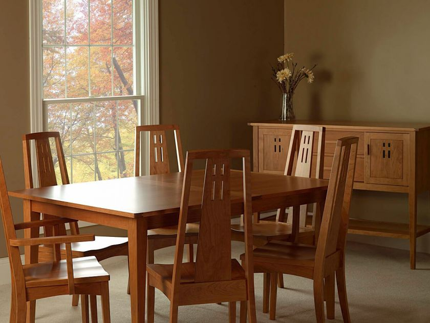 Eastwood Arts And Crafts Dining Set Countryside Amish