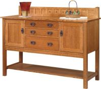 Solano Mission Style Sideboard - Countryside Amish Furniture