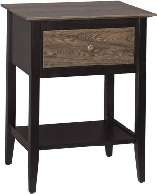Pasco Bedroom Side Table Countryside Amish Furniture