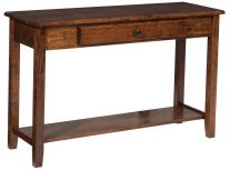amish built sofa tables leather sofas san francisco and console countryside furniture ashland table
