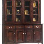 South Hooksett Large China Cabinet Countryside Amish Furniture