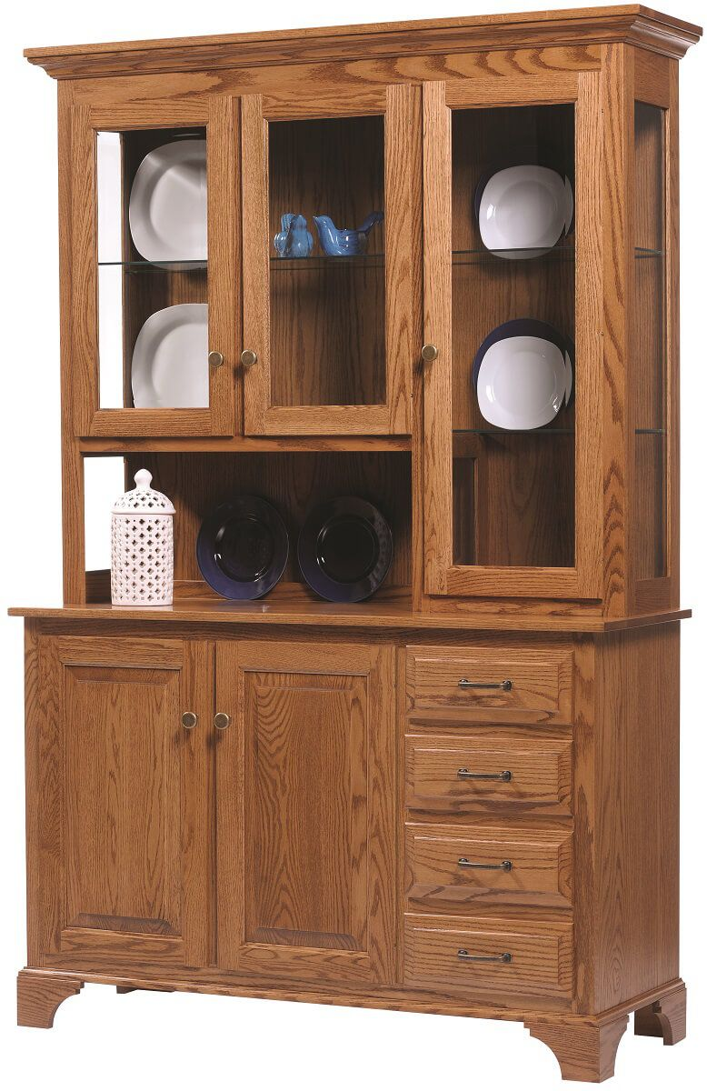 Westland 3 Door China Cabinet Countryside Amish Furniture