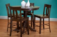 Danube French Country Bar Table Set - Countryside Amish ...