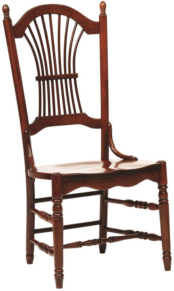 Arkansas Sheaf Back Kitchen Chairs Countryside Amish