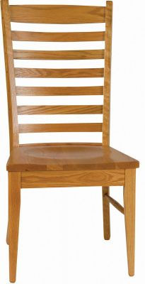 ladderback dining chairs vanity chair white aspen shaker countryside amish furniture image description