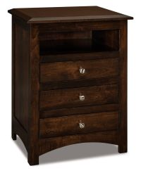 Norway Tall Nightstand - Countryside Amish Furniture