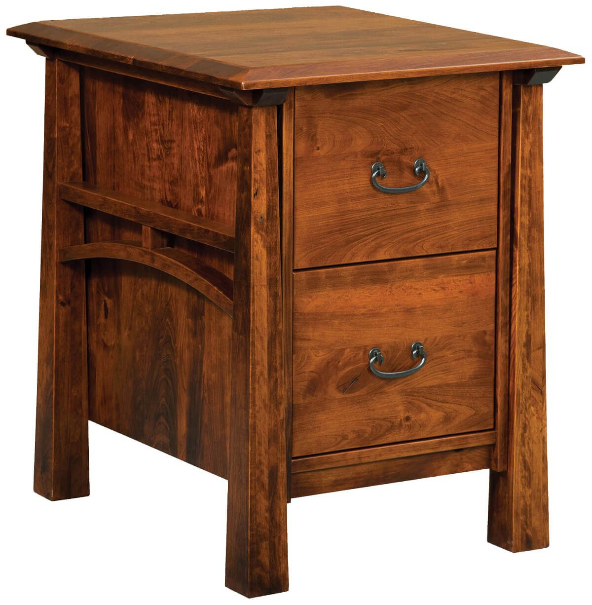 Tahoe Wooden 2 Drawer File Cabinet Countryside Amish Furniture