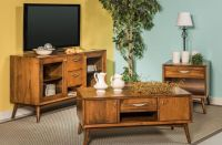 Draper Mid-Century Living Room Set - Countryside Amish ...