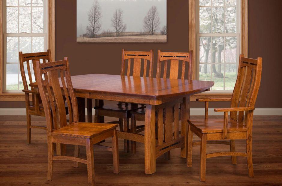 Hot Springs Craftsman Dining Set Countryside Amish Furniture