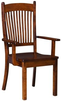 Kramer Solid Wood Kitchen Chairs - Countryside Amish Furniture