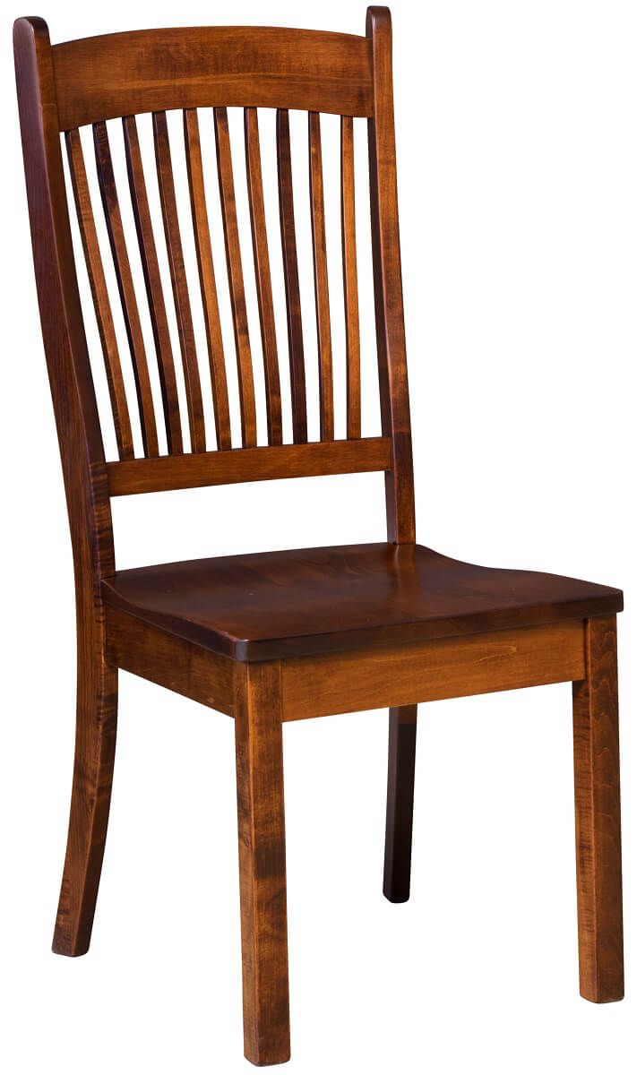 Kramer Solid Wood Kitchen Chairs  Countryside Amish Furniture