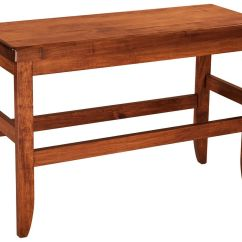 Height Of Kitchen Bench Outdoor Sets Sibbick Bar Countryside Amish Furniture