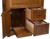 Solid Wood Secretary Desks - Countryside Amish Furniture
