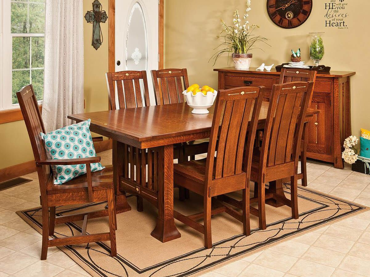 Singita Mission Style Dining Chairs Countryside Amish
