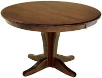Bronte Single Pedestal Table - Countryside Amish Furniture