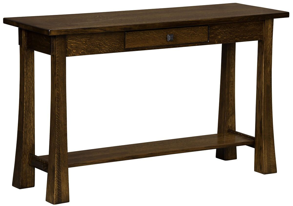 amish built sofa tables set lowest price online lassen console and table countryside furniture