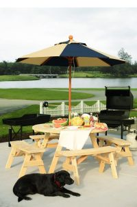 Delray Patio Dining Table - Countryside Amish Furniture