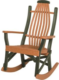 Boracay Porch Rocking Chair - Countryside Amish Furniture