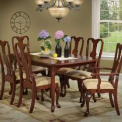 Queen Anne Living Room Sets Furniture South Africa Wooden Countryside Amish Dining