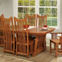 Craftsman Style Chairs Large For Living Room Wooden Mission Furniture From Countryside Amish Dining