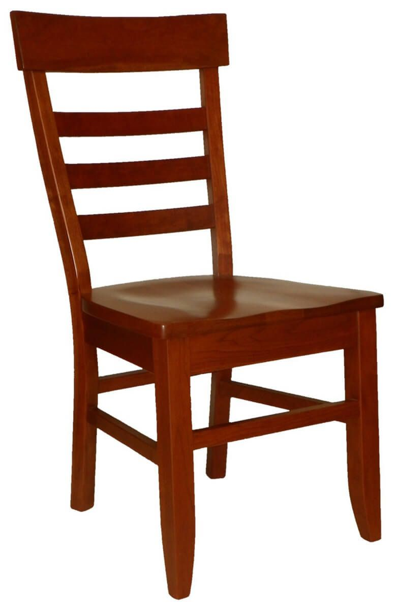 Ladder Back Dining Chairs  Countryside Amish Furniture