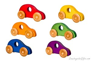 Wooden Toy Buggy Cars