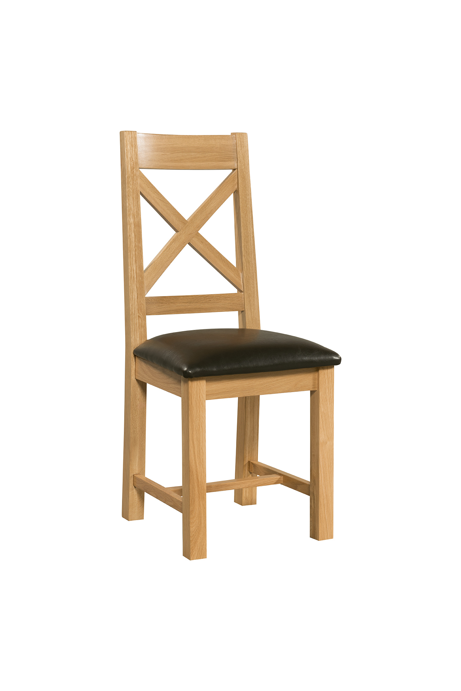 Cross Back Dining Chair  Countryside Pine and Oak