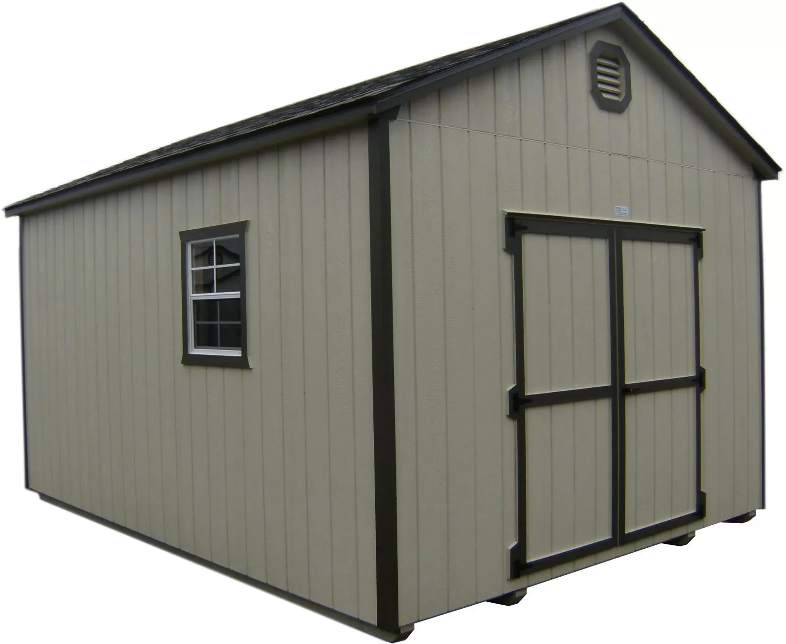 hight resolution of wood storage shed in mission or