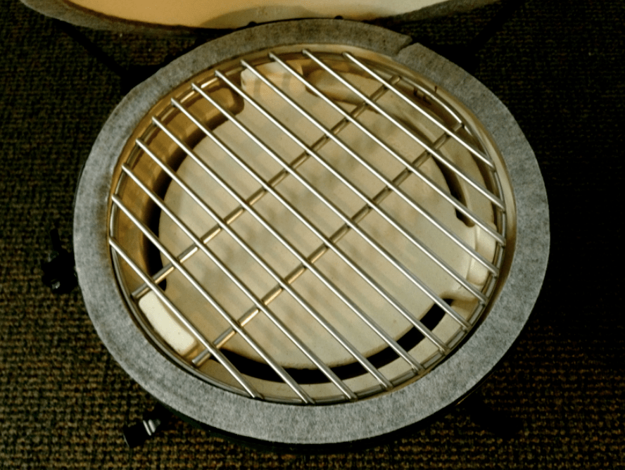 Big Green Egg Mini Plate Setter with Cooking Grate  Country Stove Patio and Spa