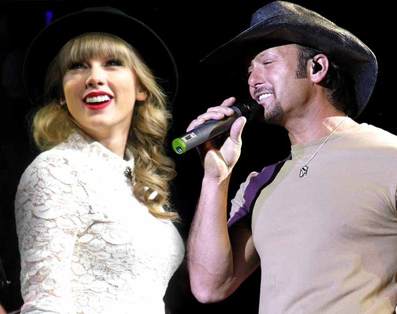 """Taylor Swift's Sings about Country Superstar """"Tim McGraw"""" 1"""