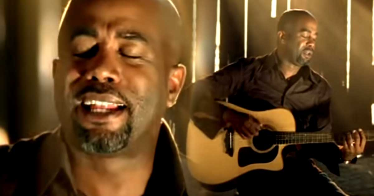"""Darius Rucker And His Awesome Song """"If I Told You"""" 1"""