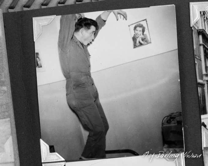 Air Force Cadet Johnny Cash
