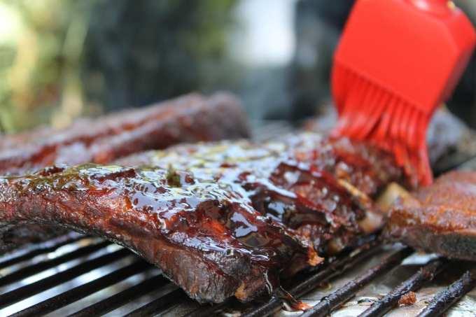 large BBQ, vegan