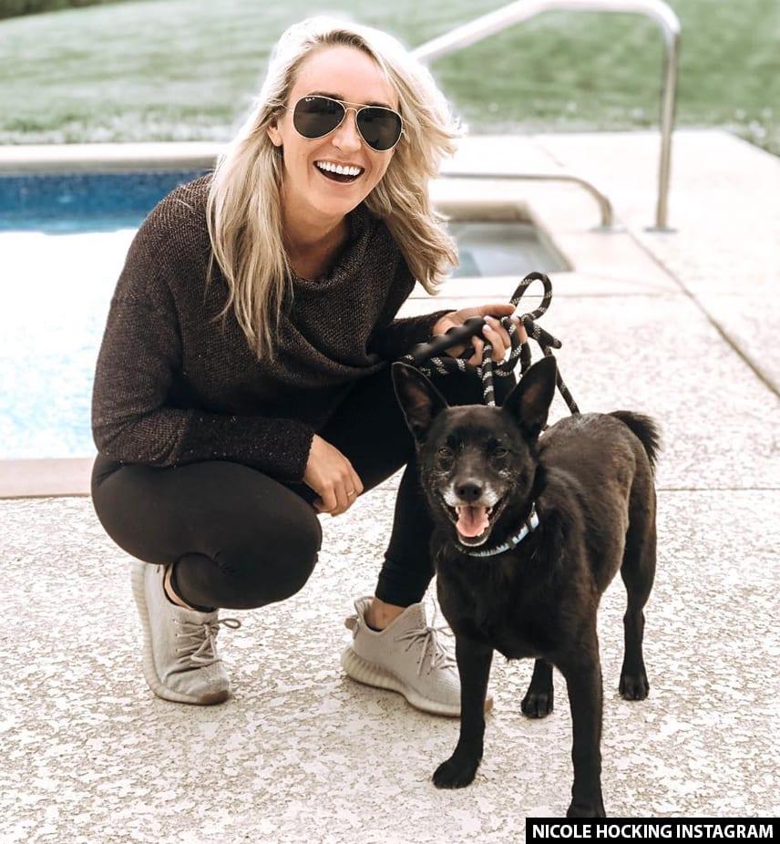 Luke Combs and Nicole Hocking Dog JoJo