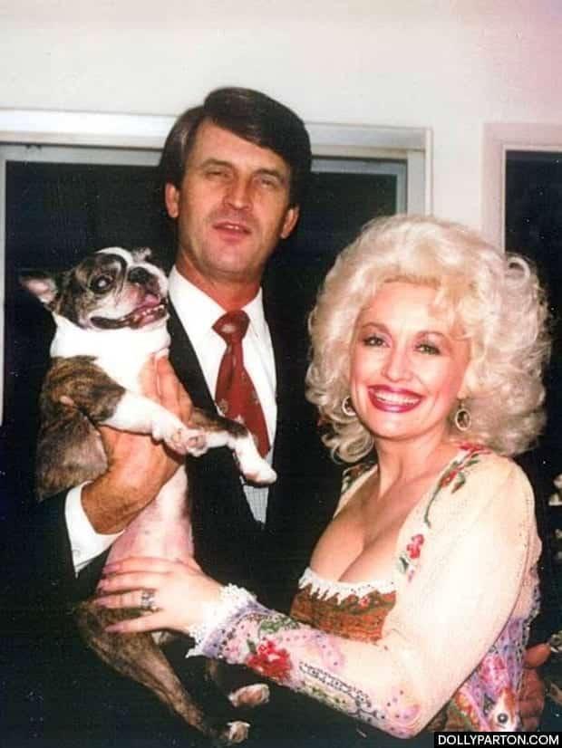 Carl Thomas Dean and Dolly Parton