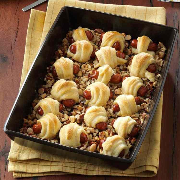 Sweet Sausage Rolls Southern Recipe