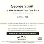 220px-George_Strait_-_Id_Like_to_Have_That__One_Back