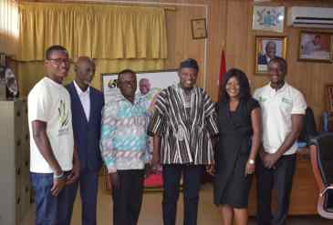 Northern Regional Minister commends Countrywise Communication Ghana