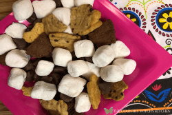 smores snack mix featured