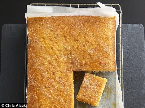 Mary Berry Lemon Drizzle Cake Tray Bake Recipe