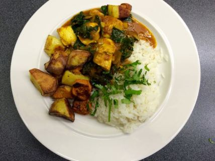 Chicken and kale curry countrywives chicken and kale curry forumfinder Choice Image
