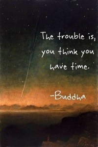 buddha time quote