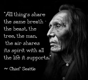 Chief Seattle ©2015 countrywomanpaints
